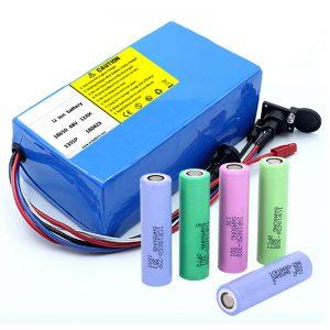 Litijska baterija 18650 48V 12AH 48V 500W električna baterija s BMS-om