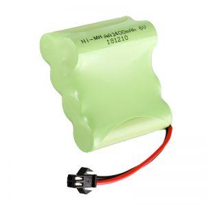 NiMH punjiva baterija AA2400 6V punjivi električni alati za igračke Baterija