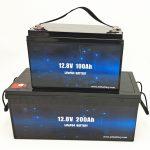 LiFePO4 solarna baterija dubokog ciklusa 12V 100Ah / 200Ah Golf kolica Litij-jonska baterija