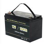 ALL IN ONE Safest Solar RV 12v 100ah LiFePO4 lithium battery pack