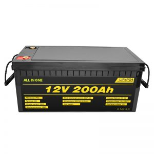 Customizable electric car 12V Lifepo4 battery 12.8v 200ah with 2000 cycle life lifepo4 battery