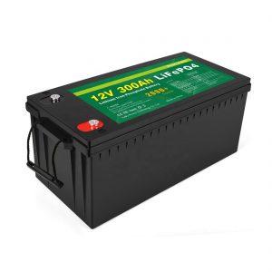Sve u jednoj litij-jonskoj bateriji dubokog ciklusa 12v 300Ah LiFePo4 akumulator