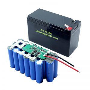 SVE U JEDNOM 18650 3S5P 12V volt litijeva baterija 11Ah punjiva litijeva baterija