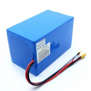 Litij-baterija 18650 48V 51.2AH 24v 30V 60V 15ah 20Ah 50Ah Li-ion baterija 18650 48V litij-ionska baterija za električni skuter