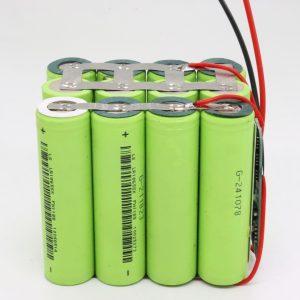 Veleprodajna prilagođena 18650 litijeva 4s3p vodootporna PCB ploča dubokog ciklusa baterija 12v 10AH za električni alat
