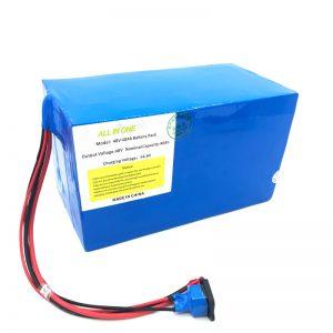Prilagođeni litij-baterijski paket od 18650 48V 40Ah za e-bicikl, e-čamac, električni skuter