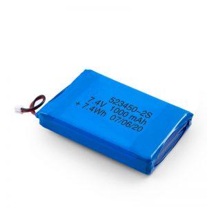 LiPO punjiva baterija 523450 3,7 V 1000mAH / 7,4V 1000mAH / 3,7 V 2000mAH
