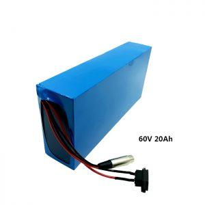 Prilagođeno punjenje baterija 60v 20ah EV litij