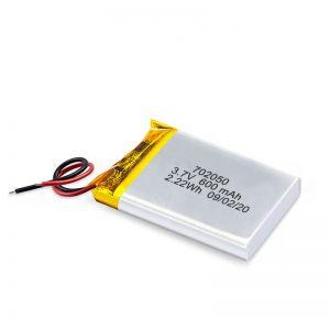 Kina na veliko 3.7V 600Mah 650Mah mini Li-polimer litij-baterija punjive baterije za igračke automobila