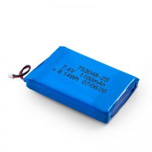 LiPO punjiva baterija 753048 3.7V 1100mAh / 7.4V 1100mAH / 3.7V 2200mAH