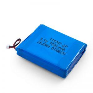 Prilagođena 3.7V 2450 2600 3900 4000 4500 4700 5000 6000 9000Mah polimerna Lipo baterija