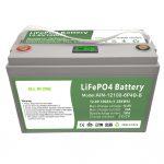 SVE U JEDNOM Duboki ciklus 12V100Ah LiFePO4 baterija s inteligentnim BMS-om za kućanstvo System Storage System