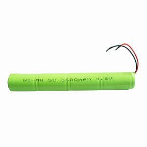 NiMH punjiva baterija SC 3600mAH 4.8V