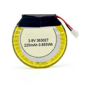 LiPO baterija prilagođena 363027 3,7V 225mAH