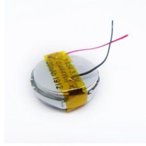 LiPO baterija prilagođena 1654 3,7 V 120mAh