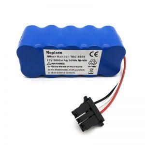 12v ni-mh baterija za usisavač TEC-5500, TEC-5521, TEC-5531, TEC-7621, TEC-7631